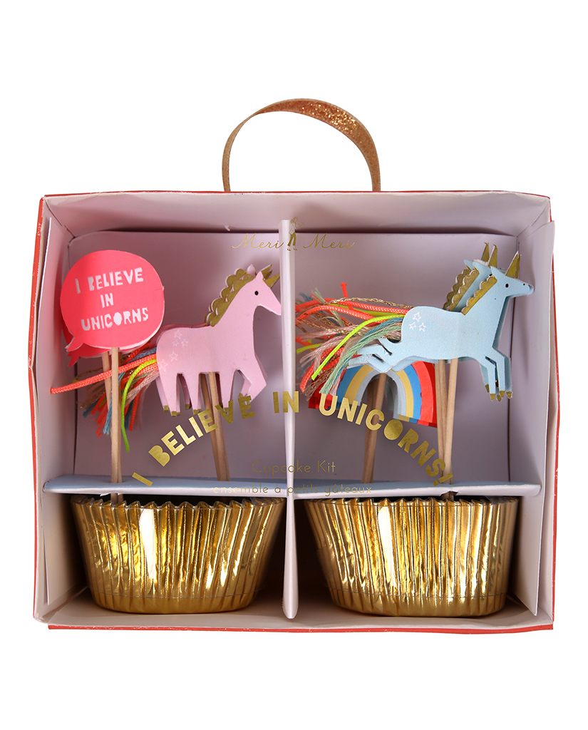 mongoose store meri meri unicorn cupcake kit