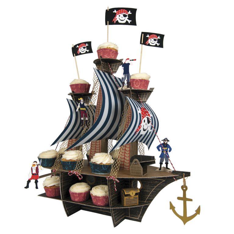 mongoose store meri meri piraten cupcake kit centerpiece