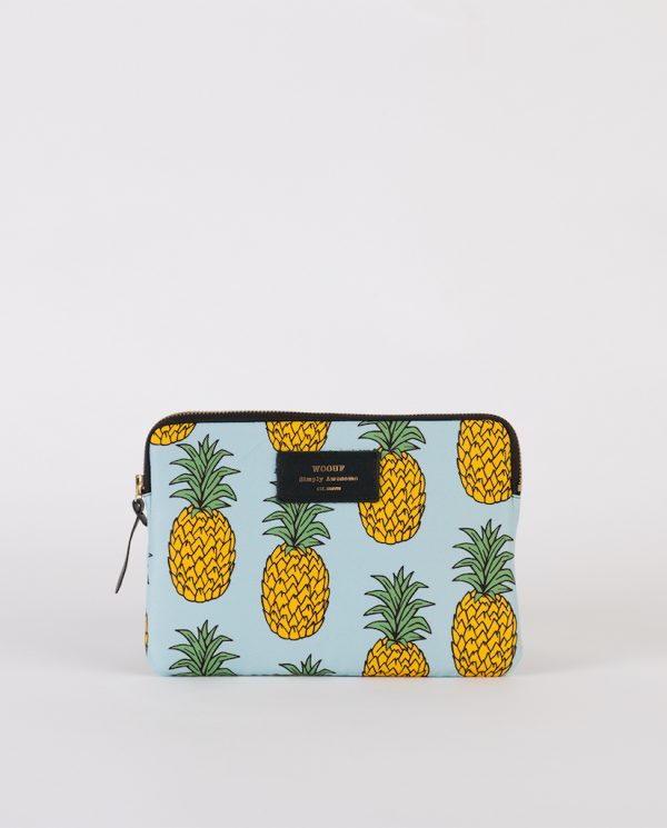 wouf pineapple ipad sleeve front mongoose store