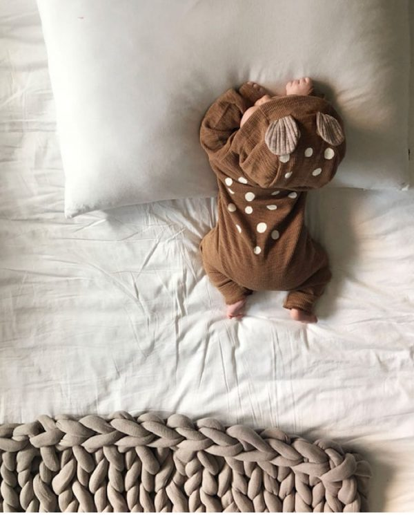 lala bambi baby bed brown suit mongoose store