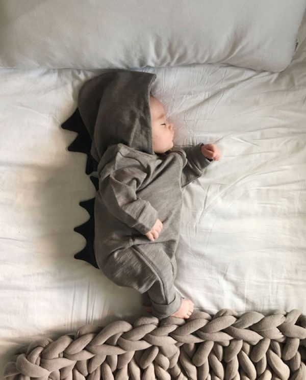 lala dinosaur suit baby bed
