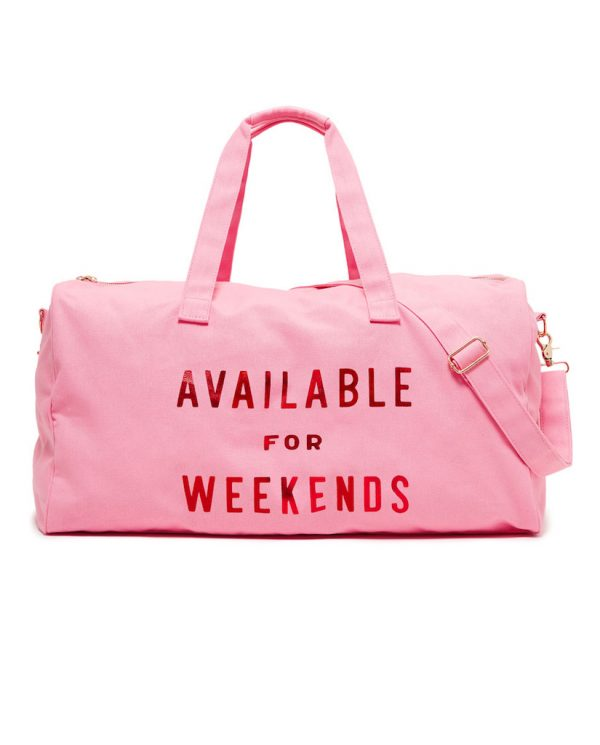Bando available for weekends duffle bag front mongoose store