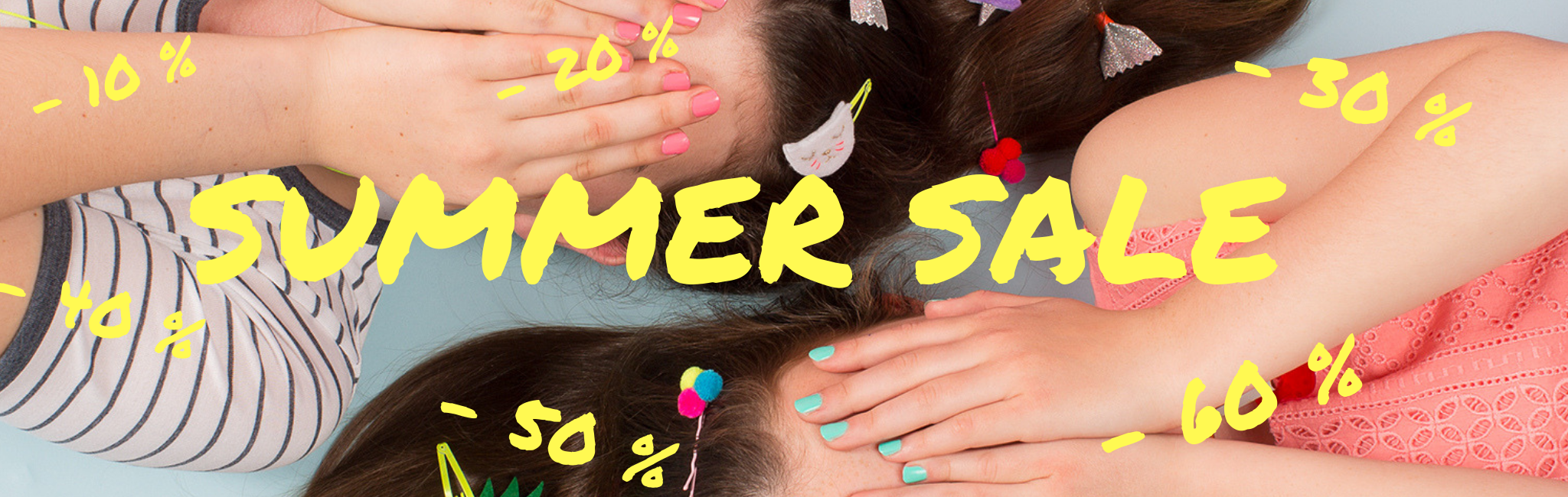 homepage banner summer sales